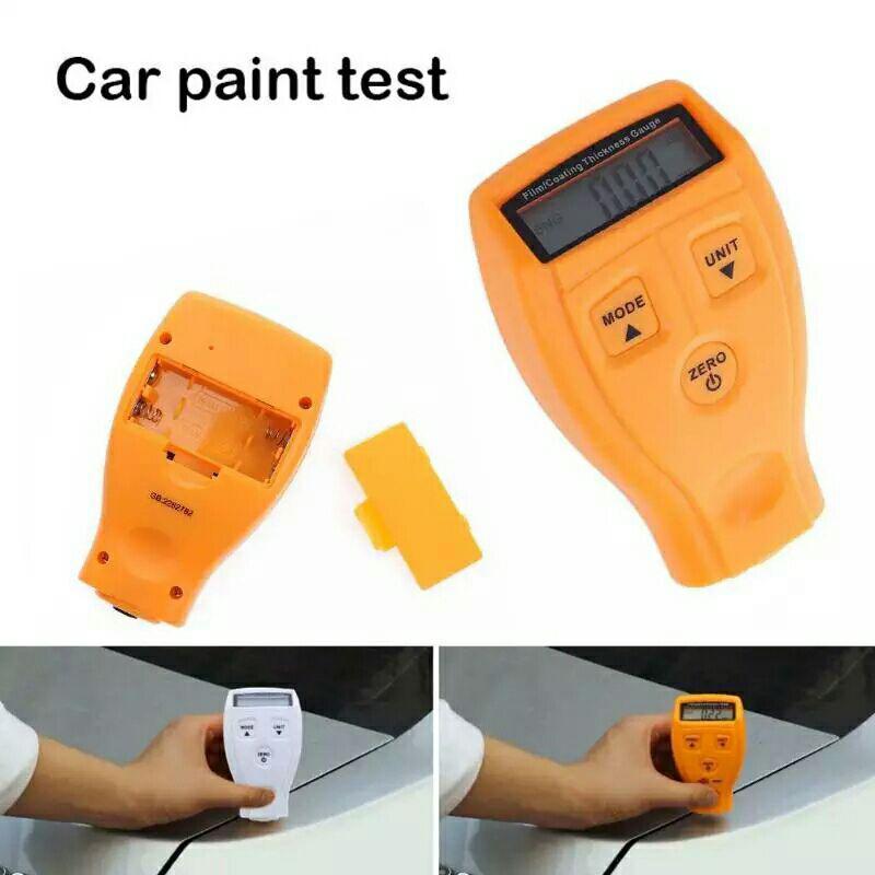 Измеритель толщины краски авто Car Paint Tester GM200.  Толщиномер.