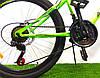 Горный велосипед Azimut Forest 26 D+ Салатово-черный, фото 2