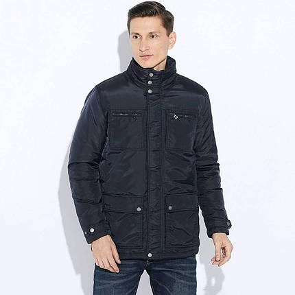 Демисезонная мужская куртка Geox M5420K DARK NAVY, фото 2