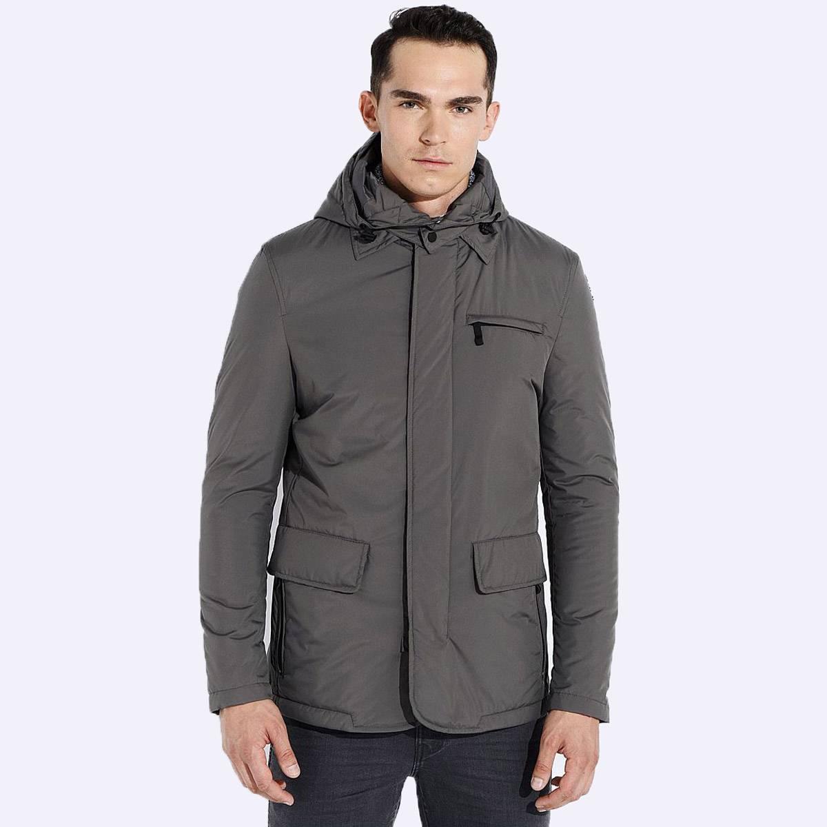 Демисезонная мужская куртка Geox M5421G TITANIUM
