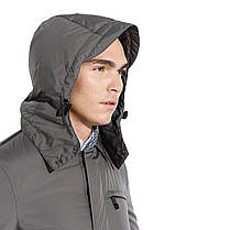 Демисезонная мужская куртка Geox M5421G TITANIUM, фото 2