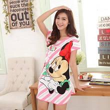 Женская ночная сорочка с Микки Маусом - размер 44-46 (бюст до 92см, длина 80см), полиэстер