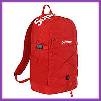 Рюкзак Supreme 2016 SS Backpack Red Logo Box
