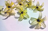 Мини лилии - искусственные цветы, головки цветов