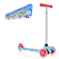 Детский самокат скутер трехколесный Фиксики Т58463 УЦЕНКА!, фото 1