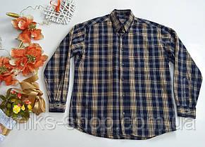 Мужская фирменная рубашка MUSTANG в клетку Размер L, фото 3