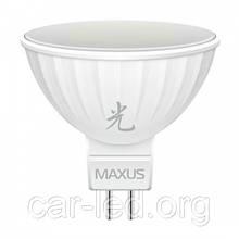 LED лампа GU5.3 MR16 12V 5,0 W(520lm) 4100K Maxus AL