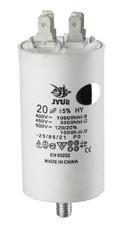 CBB-60 M 10 mkf  450 VAC (±5%) (35*65 mm) болт+клеммы  конденсатор для пуска  и работы
