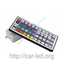 RGB Контролер однозональный з ІЧ управлінням 6A 44 кнопки