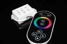 RGB Контроллер однозональный с радиоуправлением 6A с сенсорным пультом