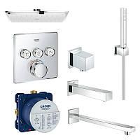 Душевая система с термостатом Grohe EX SmartControl 34506SC2 24602GROHE