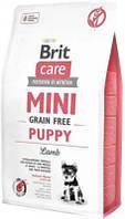Brit Care (Брит Каре) Mini Puppy Корм для щенков мелких пород с ягненком 2 кг