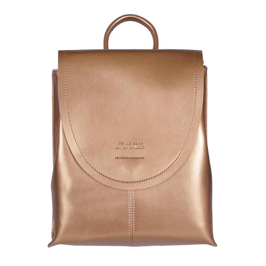 Сумка-рюкзак de esse L29225-48 Золотая