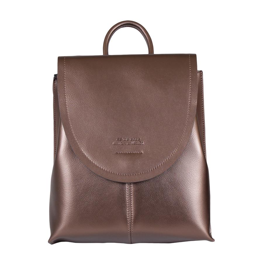 Сумка-рюкзак de esse L29225-K29 Бронзовая