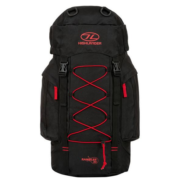 Рюкзак туристический Highlander Rambler 33 Black/Red