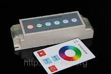 Контролер однозональный RF RGB 9А White (Touch)