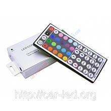 Контролер однозональный з радіоуправлінням RF RGB 12А (44 buttons)