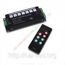 RGB Контролер однозональный з радіоуправлінням 18A з пультом CT326-RF