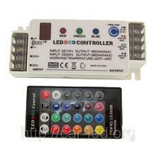 Контролер однозональный з пультом RGB-LS-0958