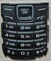 Оригинальная клавиатура для Samsung E1200, Samsung E1202, черный, (Латинница)