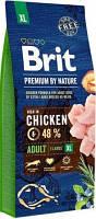 Brit Premium by Nature Adult Сухой корм для крупных пород собак XL 15 кг