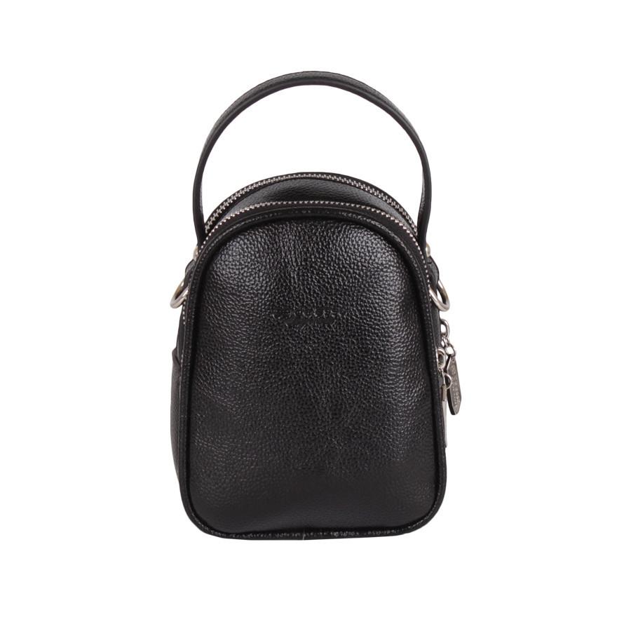 Сумка-рюкзак de esse DS57389-01B Черная