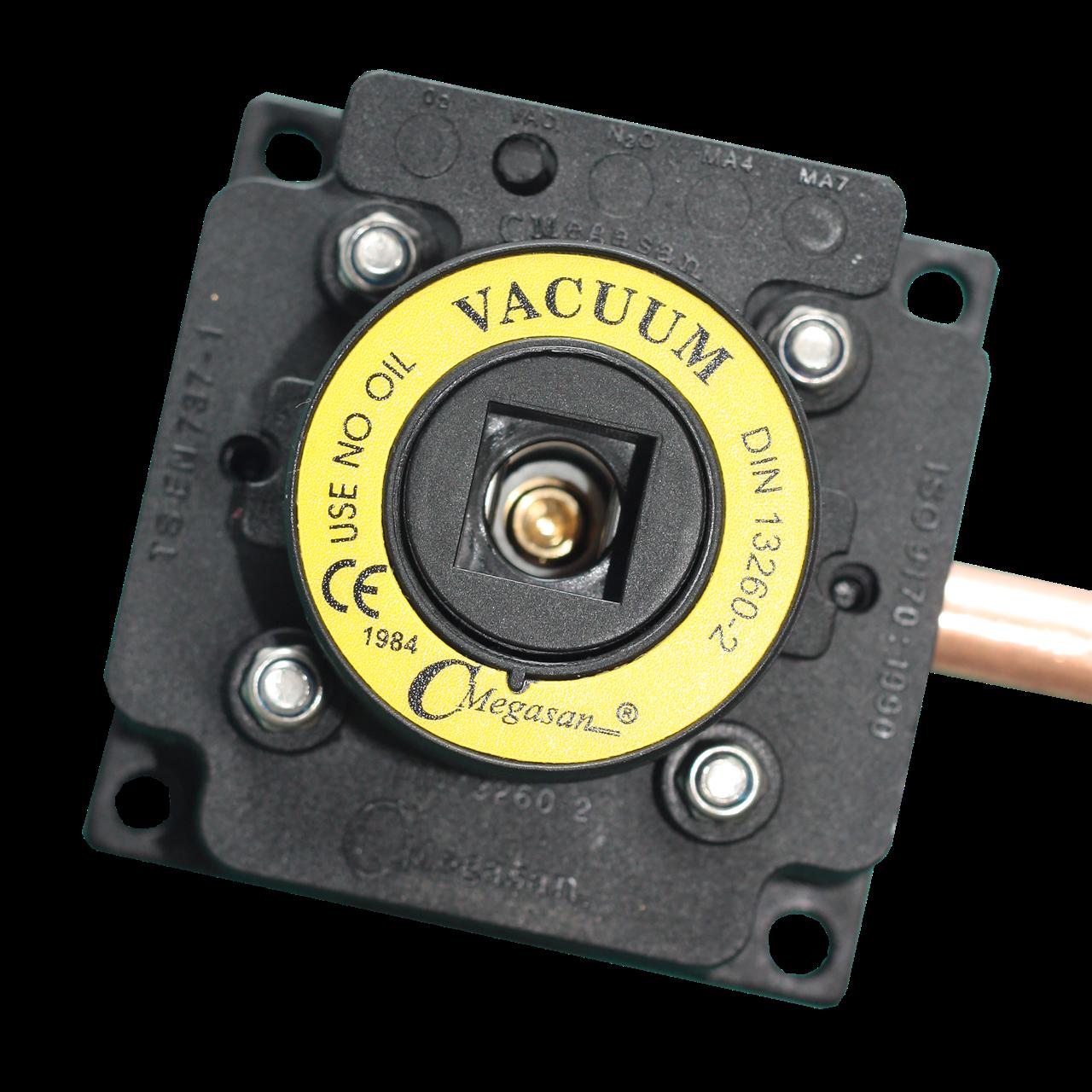 Розетка газовая, вакуум - DIN - пневматическая 8 мм