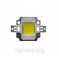 Сверхяркий светодиод LED 10W Warm White 1000 Lm