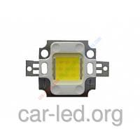 Сверхяркий светодиод LED 10W Warm White 800 Lm