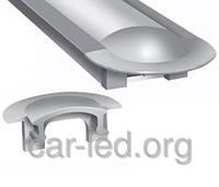 Заглушка для алюминиевого профиля ЛПВ-7 и ЛПВ-12