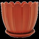 Вазон с подставкой Марго 18х16см 2,4л