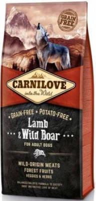 Сухой корм для собак Carnilove (Карнилав) Adult с мясом ягненка и дикого кабана 12 кг, фото 2