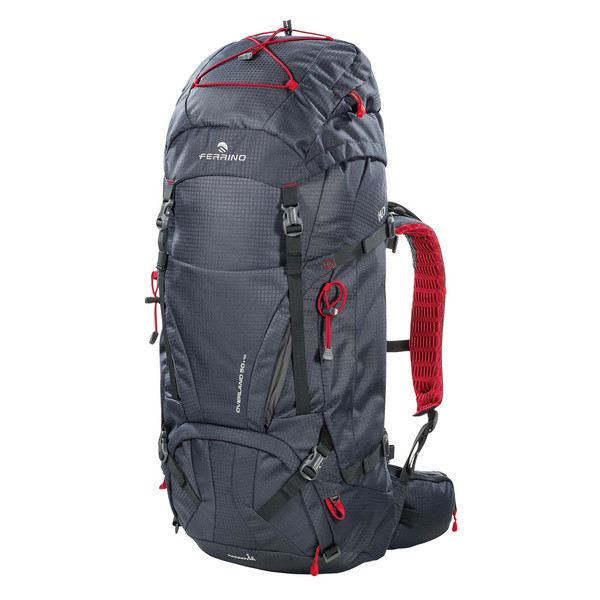 Рюкзак туристический Ferrino Overland 50+10 Dark Grey