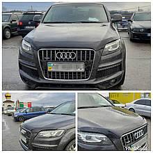 Дефлектор капота (мухобойка) Audi Q7 2006-2015 (HIC)