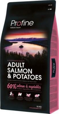 Profine (Профайн) Adult Salmon Корм для собак с пищевой аллергией 15 кг