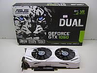 Видеокарта Asus GeForce GTX 1060 DUAL-GTX1060-3G  код.VD5