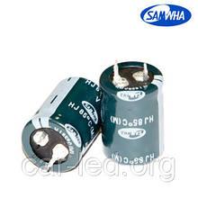330mkf - 200v  mini HJ 22*25  SAMWHA, 85°C
