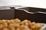 Гранитная угловая мойка Alveus SENSUAL 60 G03M chocolate metalic 90*61, фото 6