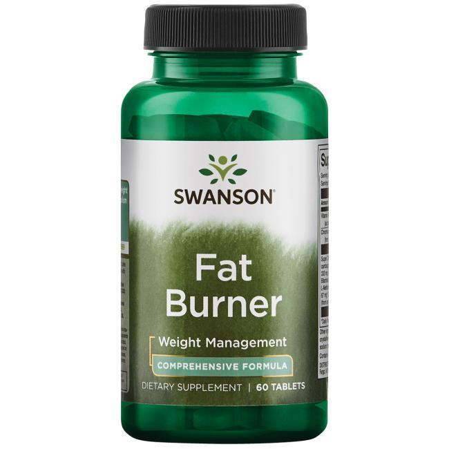 Swanson Fat Burner препарат для сжигания жира 60 таблеток