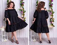 Платье  женское батал  Lux, фото 1