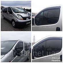 Дефлекторы окон (ветровики)  Opel Vivaro /Renault Trafic 2001-> 2шт (Hic)