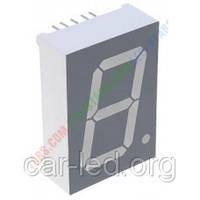 Красный семисегментный LED индикатор FYS-5012 BS-21 (12,7 x 19) 1-разрядный FORYARD (общий анод)