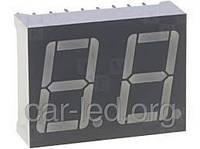 Красный светодиодный цифровой индикатор 2-разрядный FYD-5622 FS-21 FORYARD (общий катод)