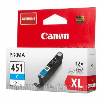 Чернильница Canon CLI-451C XL (Cyan) Pixma MG5440/MG6340