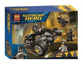 Конструктор Bela 11021 Супергерои Бэтмен: нападение Когтей (аналог Lego Super Heroes 76110)