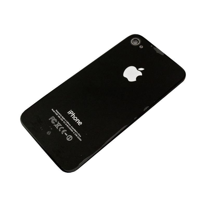 Задняя крышка iPhone 4S Black HC