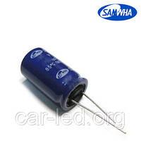 150mkf - 400v  SD 18*40  SAMWHA, 85°C