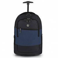 Сумка-рюкзак на колесах Gabol Saga 31L Blue, фото 1
