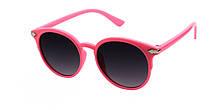 Солнечные очки для девочки модные круглой формыReasic