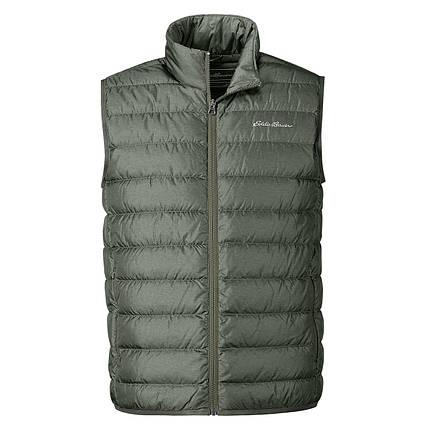 Мужская жилетка дутая Eddie Bauer Men CirrusLite Down Vest HTR OLIVE, фото 2
